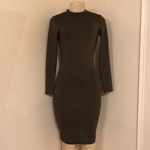 Dresses & Skirts - Forest Green Stretchy dress